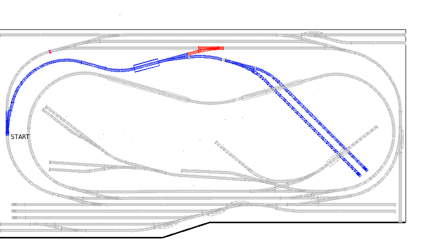 Track Map of Mine Branch